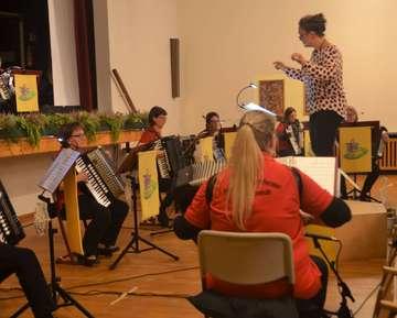 Konzert des Akkordeonorchesters Visselhövede