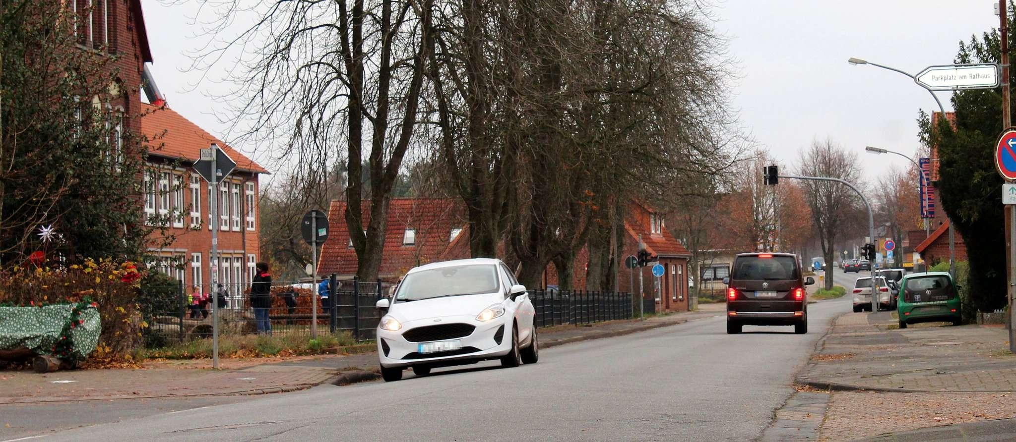 Geht es nach dem Bauausschuss sollen Fahrzeuge im Bereich der Kastanienschule künftig maximal Tempo 30 fahren dürfen.