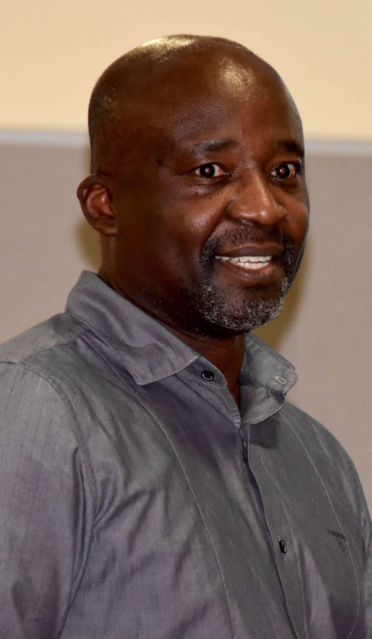 Tam Ofori-Thomas stellte die Idee eines Ortsrat vor. Foto: Judith Tausendfreund