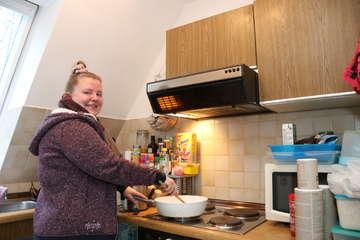 Rieke Lüdemann kocht bei der Küchenschlacht im ZDF  Von Nina Baucke