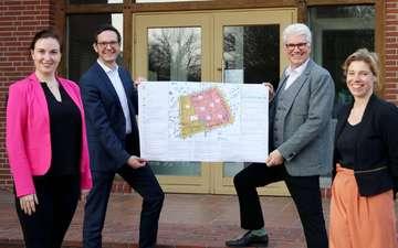 Vermarktung im neuen Baugebietes beginnt im April  Von Nina Baucke