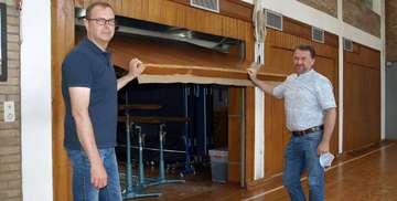 Hemslinger Schulsporthalle wird vollkommen saniert   VON JENS WIETERS