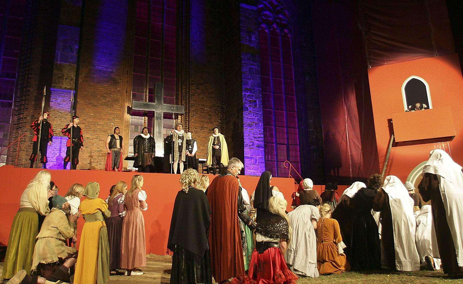 Vom 14. bis 29. Juli ist wieder Zeit für die Domfestspiele in Verden. Der Vorverkauf des Großevents hat bereits begonnen.