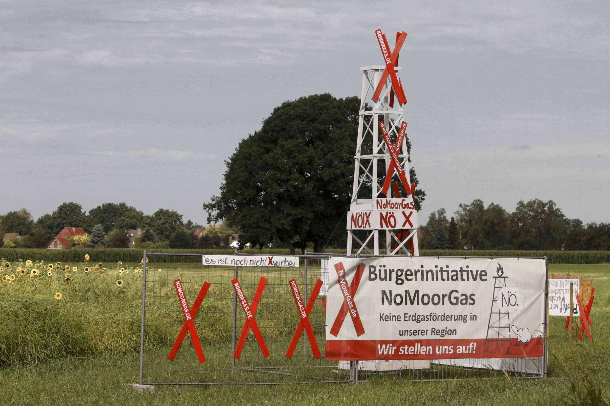 Die Bürger fordern schon lange ein Stopp von Gasbohrungen in ihrer Region. Foto: Tobias Woelki