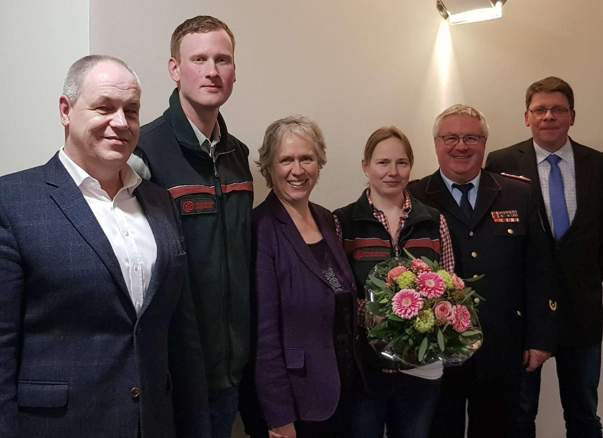 Arbeiten eng zusammen (von links): Ronald Möller, Tobias Gebers, Regina Tryta, Lena Maack, Hans-Hermann Fehling und Christian Groth.