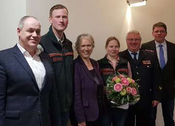 Lena Maack ist neue VizeKreiswaldbrandbeauftragte