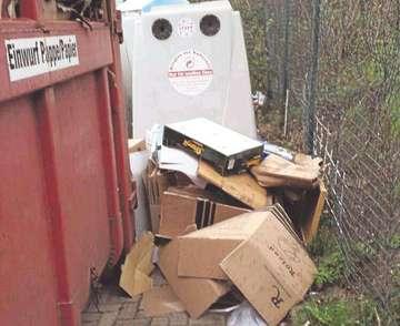 Neuer Platz für Müllcontainer in Otterstedt