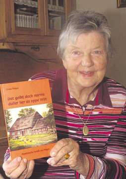 Grete Hoops präsentiert ihr 14 Buch  Lesung in Ottersberg