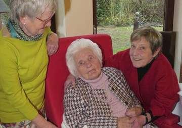 Adele Meyer feiert in Sagehorn  Geboren in KaiserWilhelmZeiten