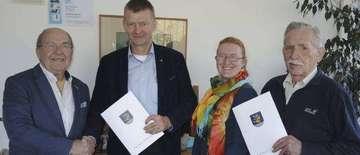 Richard Kruse und Gerhard Rodemann ausgezeichnet