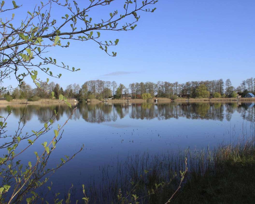 Die zweite Bürgebus-Wandertour führt auch an dem 12.000 Jahre alten Otterstedter See vorbei. Foto: Björn Blaak