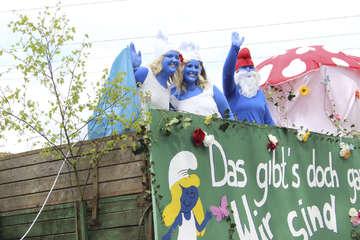 Party Tanz Festumzug und Heimatabend im Künstlerdorf