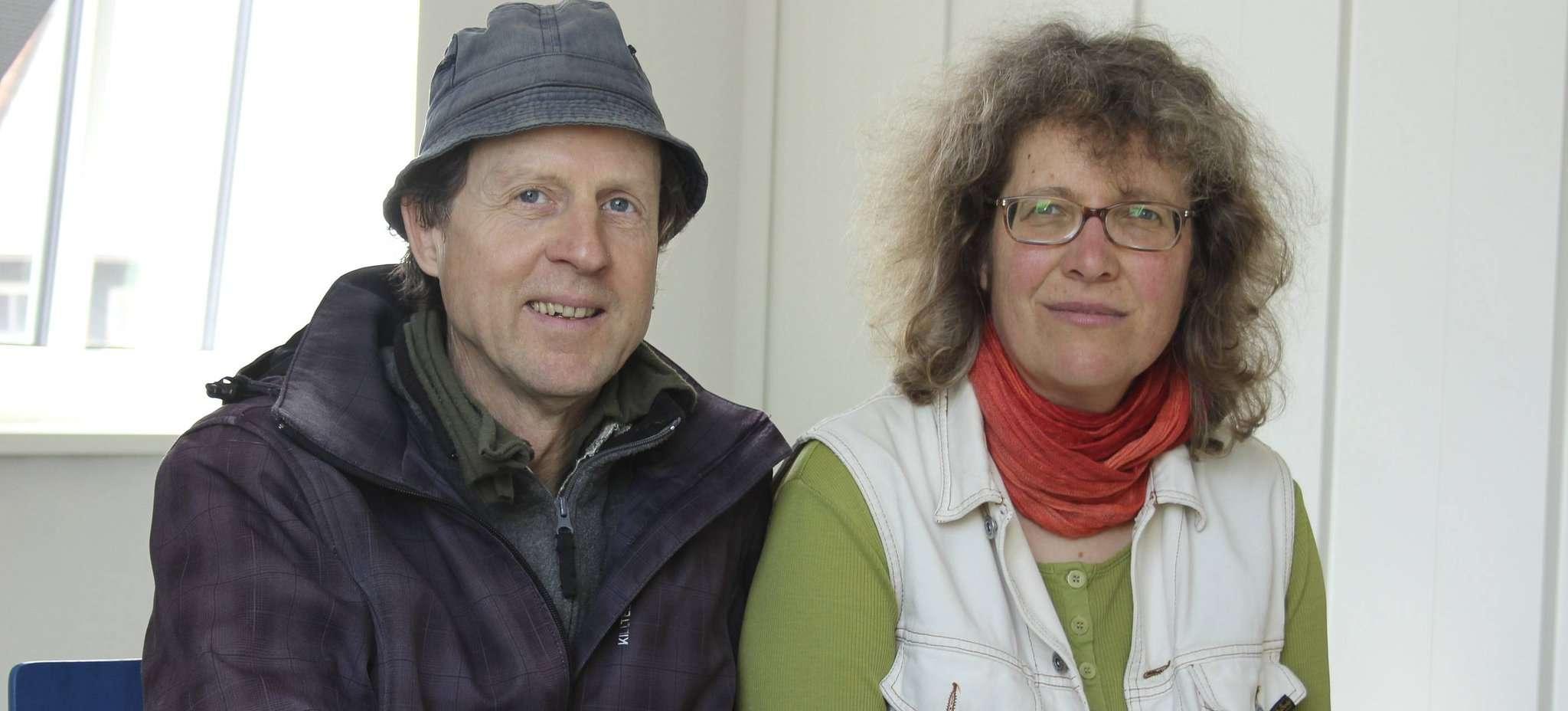 Harald Nöding und Anke Buse sind die Initiatoren der Vorträge zur