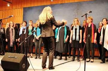 Gemeinsames Konzert Chorious und Open Ears begeistern das Publikum