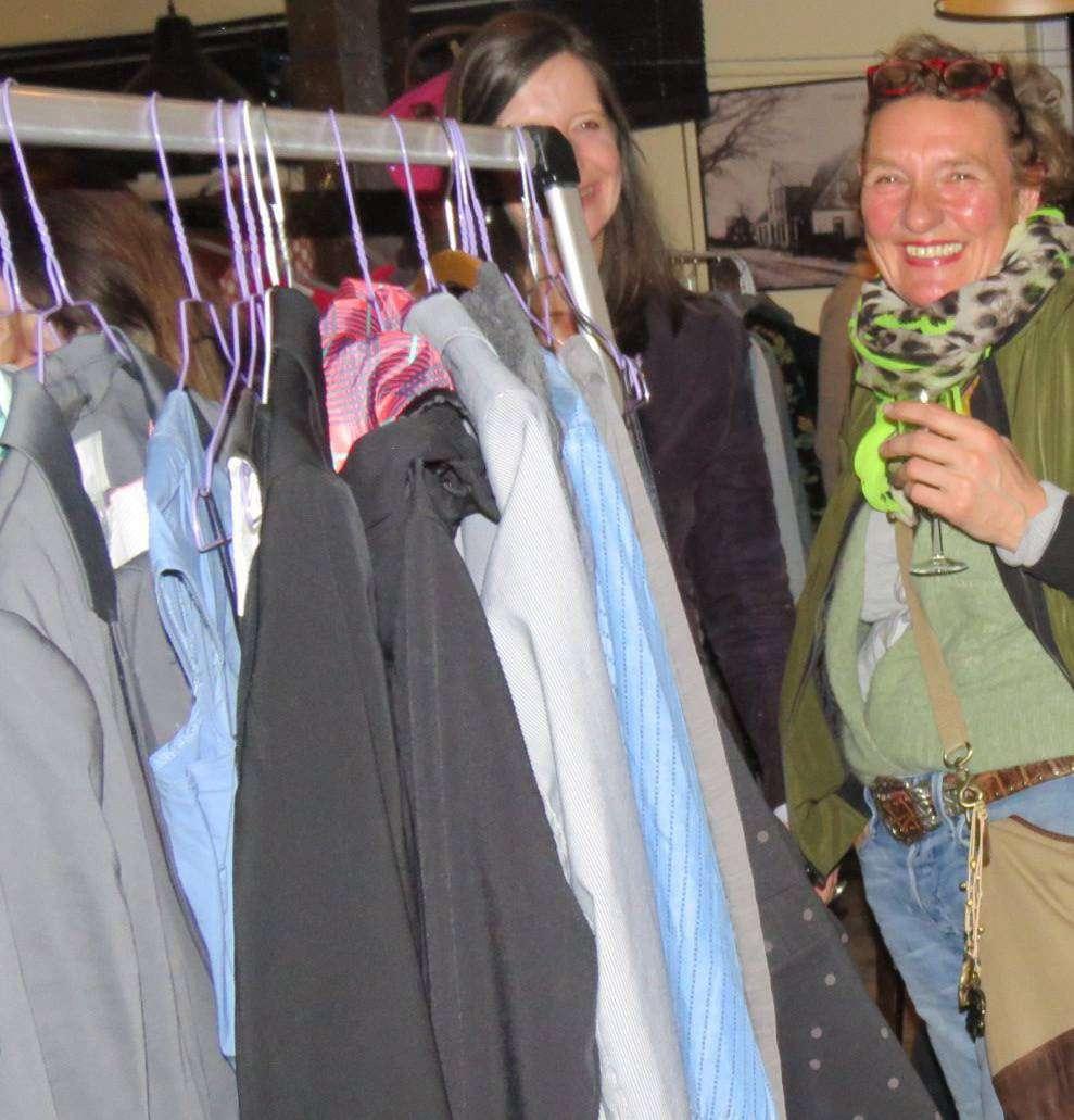 In Quelkhorn gab es zum dritten Mal einen Second-Hand-Markt nur für Frauen. Foto: Elke Keppler-Rosenau