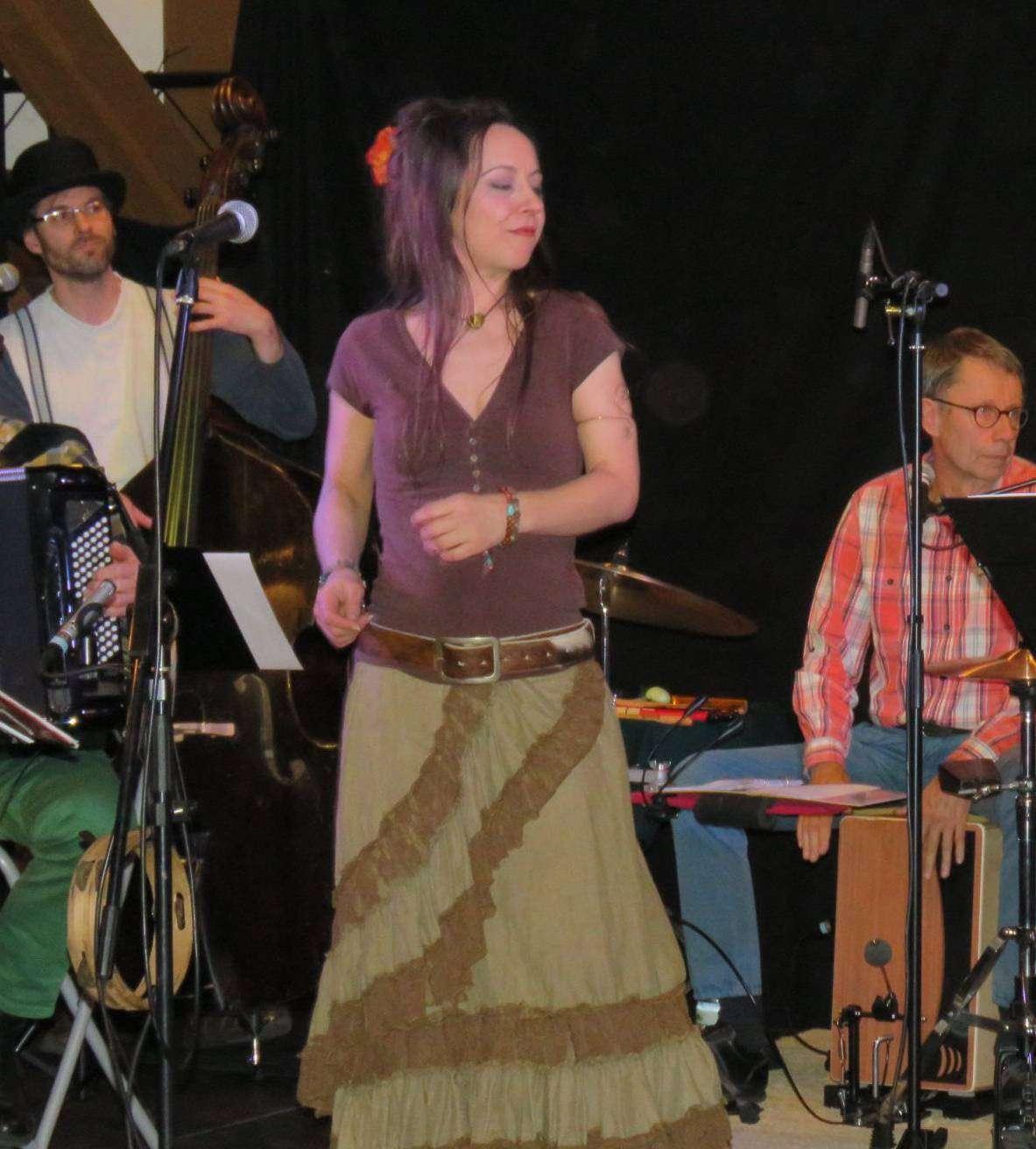 Cajun X aus Zeven erwiesen sich für das März-Konzert im Kukuc als wahrer Glücksgriff. Foto: Elke Keppler-Rosenau