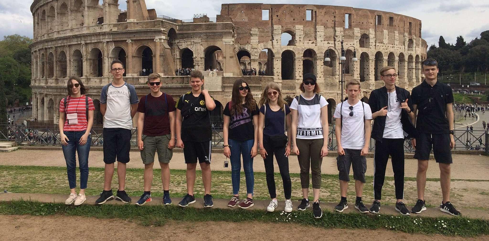 Von der Wümme an die Tiber: Ottersberger Gymnasiasten des neunten Jahrgangs besuchten die Ewige Stadt.