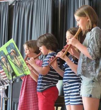 Nachwuchsmusiker begeistern in der Wümmeschule  Von Elke KepplerRosenau