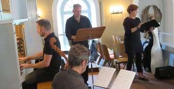 Vokalquartett Calliope singt in Fischerhude  Von Elke KepplerRosenau
