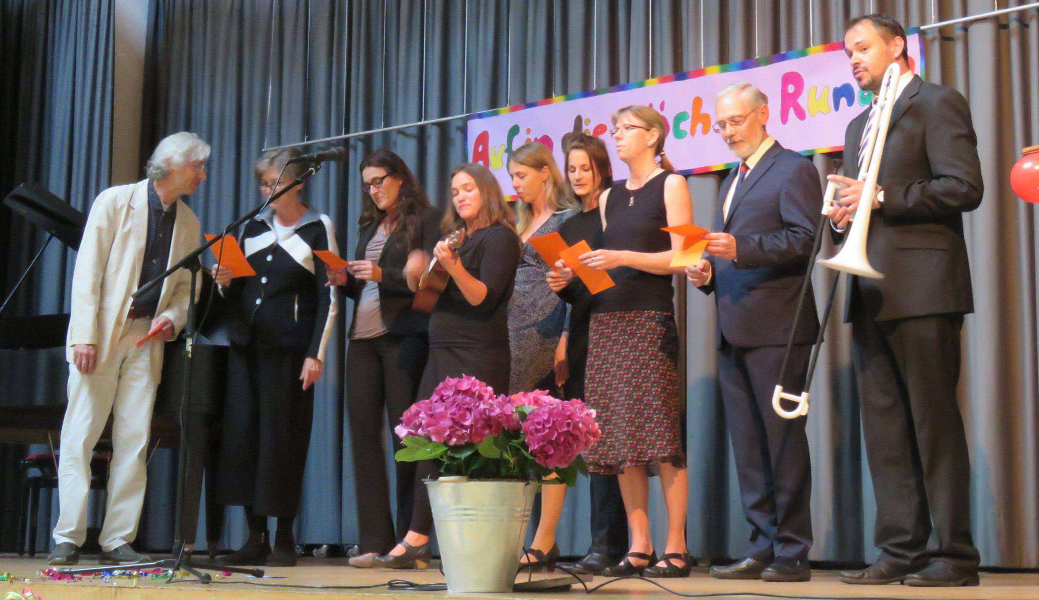 Der Lehrerchor beeindruckte mit einem gelungenen musikalischen Auftritt. Foto: Elke Keppler-Rosenau