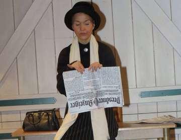Theaterstück um Anita Augspurg im Buthmanns Hof