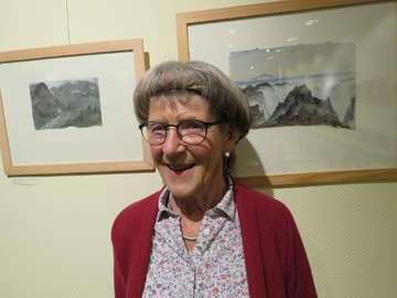 Ina Mahlstedt zeigt ihre Arbeiten im Rathaus