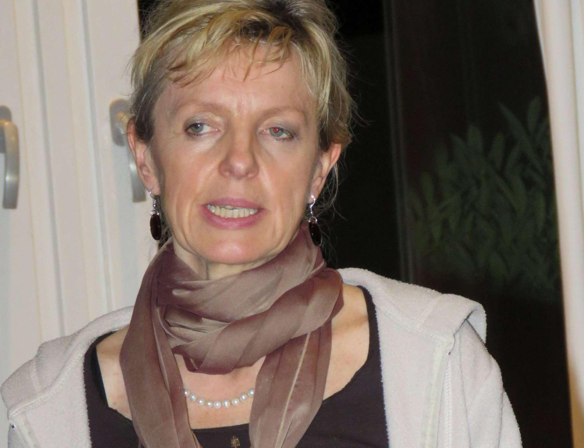 Die Bremer Wirtschaftswissenschaftlern Rena Fehre stellte das Modell Gemeinwohl Ökonomie vor. Foto: Elke Keppler-Rosenau