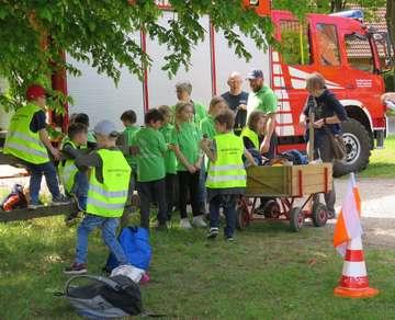 Feuerwehrnachwuchs in Ottersberg unterwegs