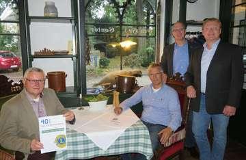 Zum 40 LionsClub Ottersberg lobt fünf Spenden zu je 1000 Euro aus