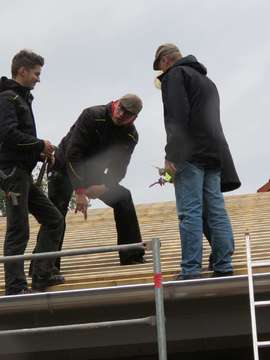 Richtfest an der Kita Ottersberg  Fertigstellung im Sommer 2020