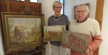 Kunstverein Fischerhude erhält drei Gemälde von Kurt Glauber