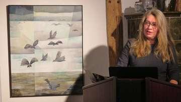 Kaff in Fischerhude zeigt Vogelwelten von Werner Zöhl