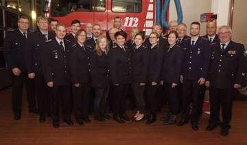 Jahreshauptversammlung der Freiwilligen Feuerwehr in Ottersberg 52 Einsätze 14578 Dienststunden
