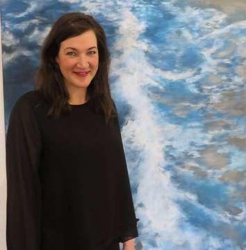 Malerin Musikerin und Pädagogin Rabea Medebach aus Fischerhude