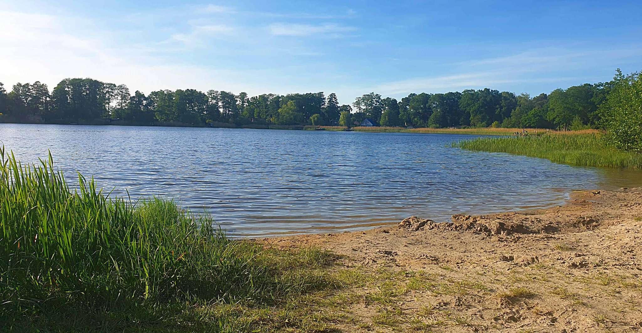 Aktuell kann im Otterstedter See gebadet werden. Die Blaualgen verhalten sich