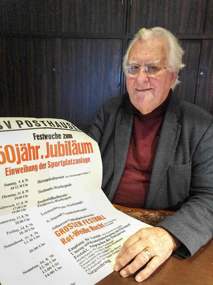 Vor 50 Jahren brachte Manfred Hartmann Frauenfußball in Posthausen ins Rollen. Foto: Tobias Woelki