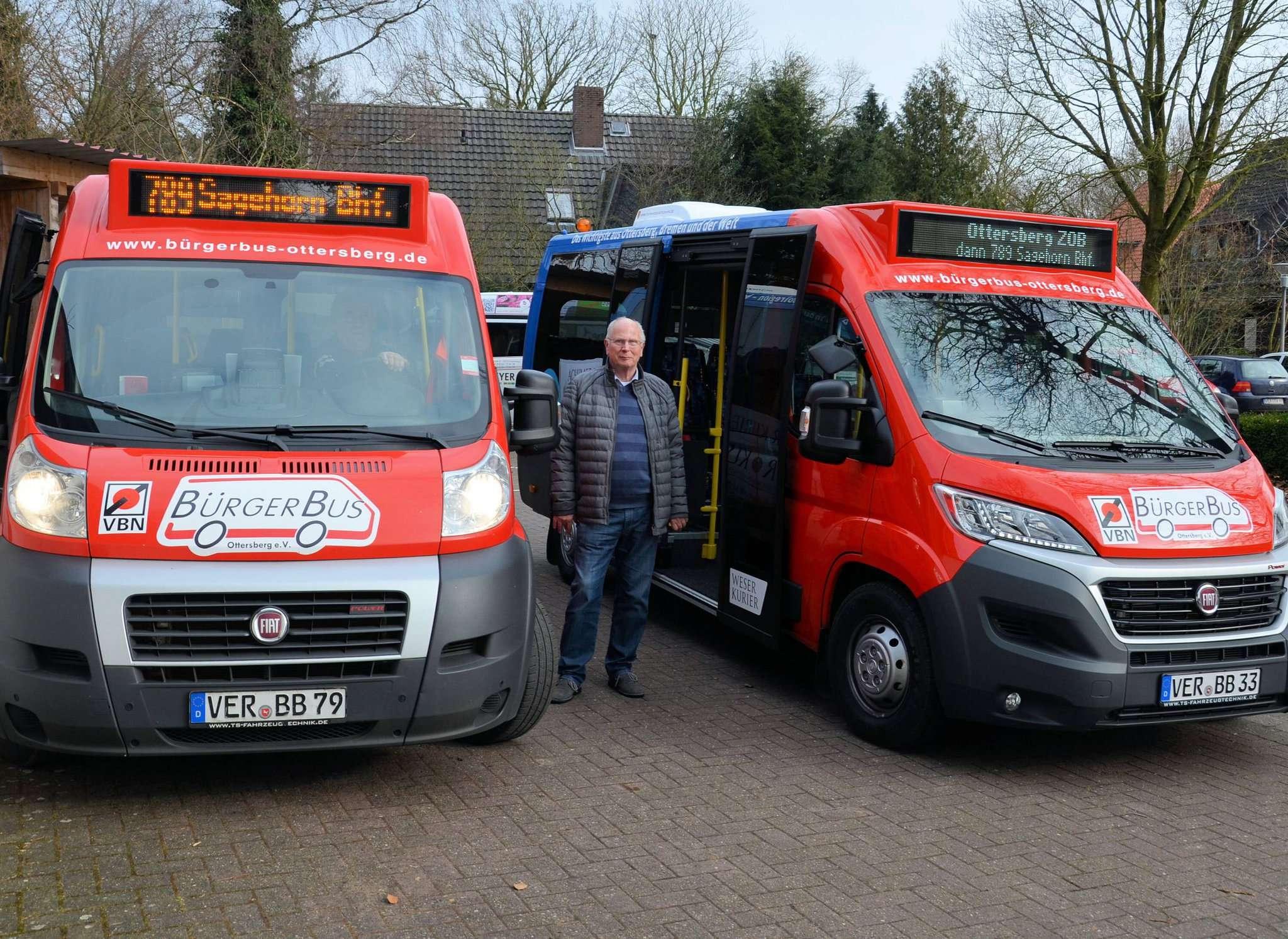 Die Bürgerbusse in Ottersberg und Oyten stehen noch bis mindestens 31. Januar still.