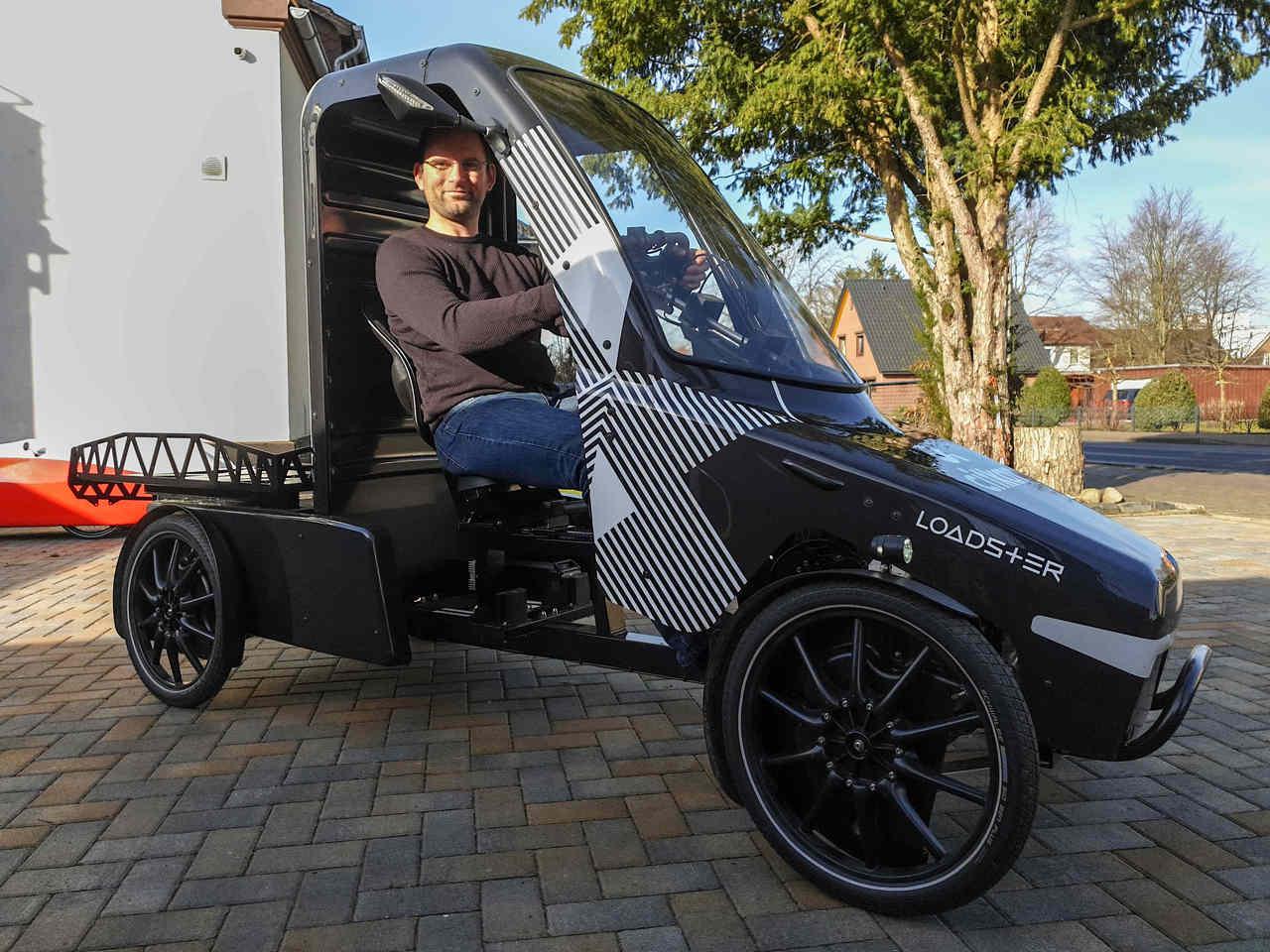 Das Citkar ist ein Lastenrad der besonderen Art. Foto: Tobias Woelki