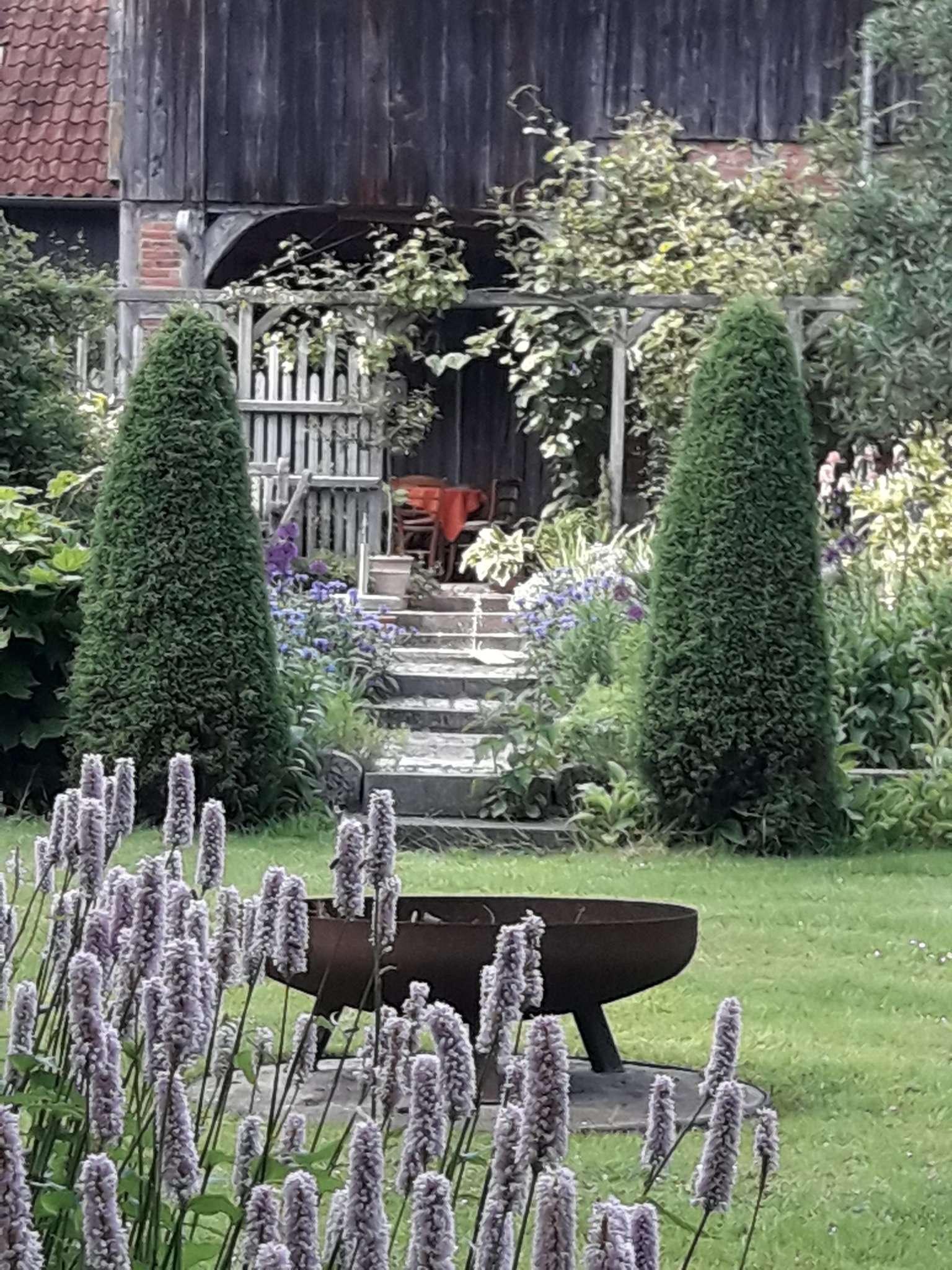 Der Garten von Hanne und Klaus Werner in Benkel ist am 20. Juni für Jedermann zugänglich.