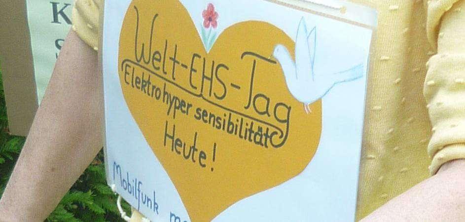 Zum Welt-EHS-Tag gab es eine Aktion in Ottersberg.