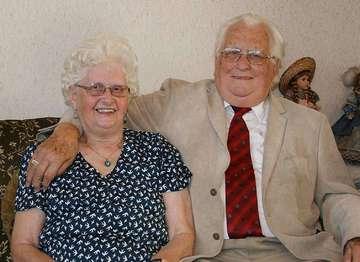 Edith und Manfred Hartmann feiern diamantene Hochzeit