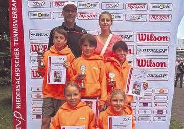 Rang vier für TennisNachwuchs