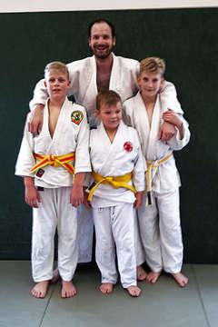 Junge Judoka aus Oyten reisen zu Lehrgang nach Blender