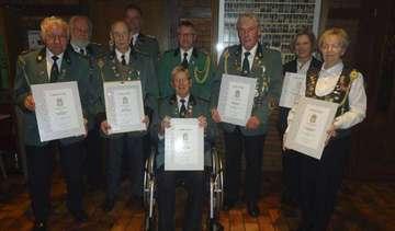 Schützenverein Sagehorn verabschiedet Vorsitzenden Lieder