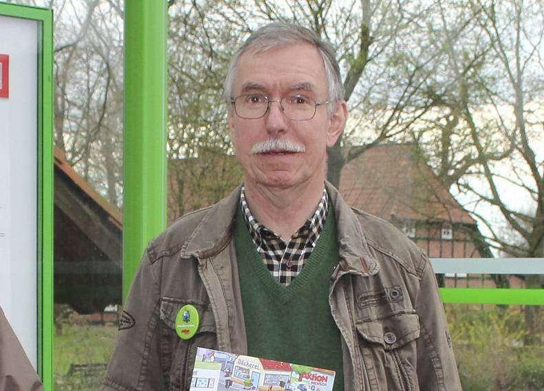 Der VdK-Kreisvorsitzender Peter Müller aus Oyten fordert mehr soziale Gerechtigkeit. Archiv-Foto: Björn Blaak