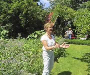 Ein Kleinod trotzt dem wachsenden Grau Renate und Kurt Marks öffnen ihren Garten