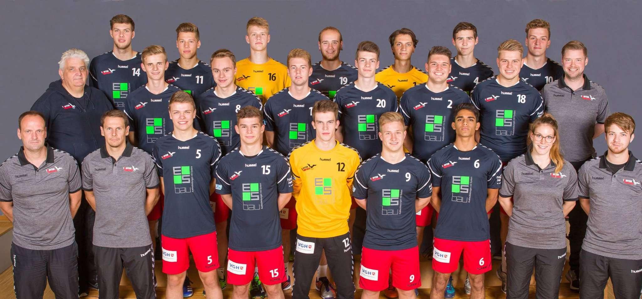 Die A-Jugend der Bassener Handballer Foto:www.ivent-foto.de