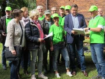 Aktion Unser Dorf hat Zukunft Kommission zu Gast