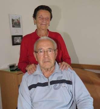 Ilse und Günther Bischoff verheiratet seit 60 Jahren