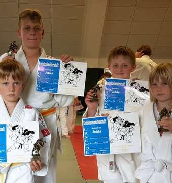 Vier Bassener Judoka überzeugen